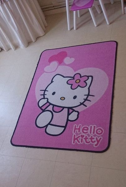 Tapis Hello Kitty Décoration