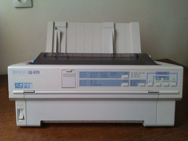 Dot 1150 epson lq matrix drivers printer