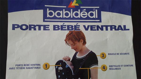 Achetez porte bébé ventral quasi neuf, annonce vente à Montpellier ... 606a2263db7