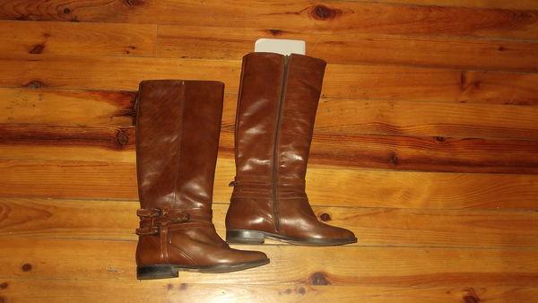 tout p femme style cavalières marron bottes cuir 37 mn0wvN8yO