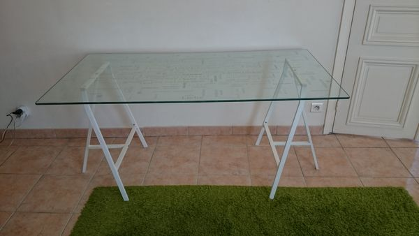 Table Plateau Verre Ikea