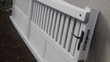 vend portail blanc  (44) - 200 €