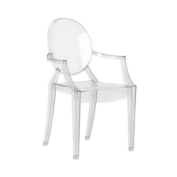 Fauteuil Louis Ghost Philippe Starck Meubles