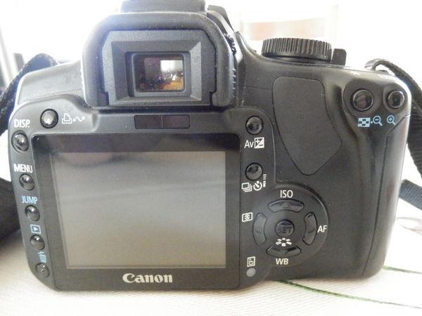 Canon EOS 400D +4 Objectifs+Flash+Pied