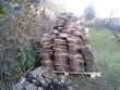 500 petites tuiles anciennes 27X15cm pas grattees  (71) - 300 €