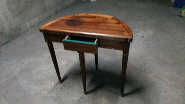 LuneLakesnake Ronde Table En Demi Pliable KJc1lF