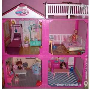 maison barbie forever girl. Black Bedroom Furniture Sets. Home Design Ideas