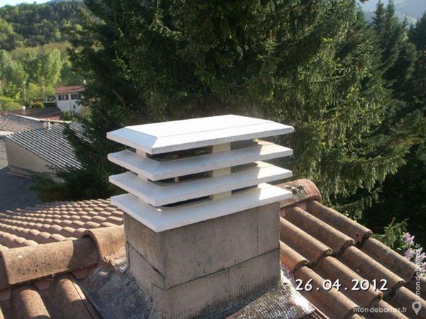 Chapeau cheminee beton pas cher for Pose d un chapeau de cheminee