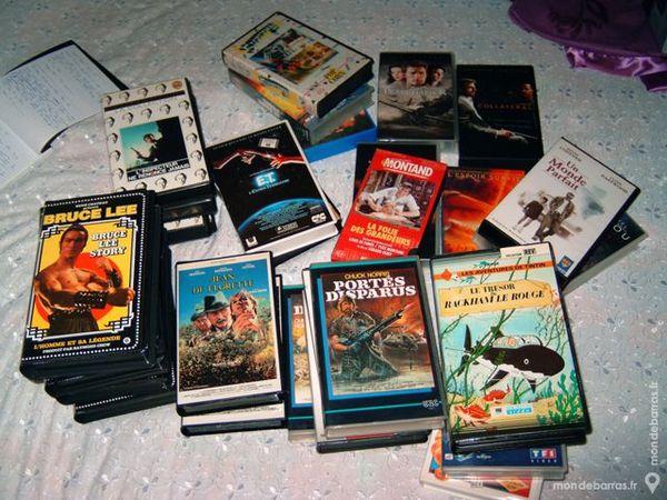 Lot de VHS 70 La Chapelle-d'Armentières (59)