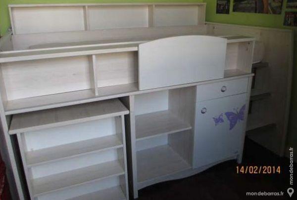 Bureau pour fille chaise de bureau pour enfant bureau rose