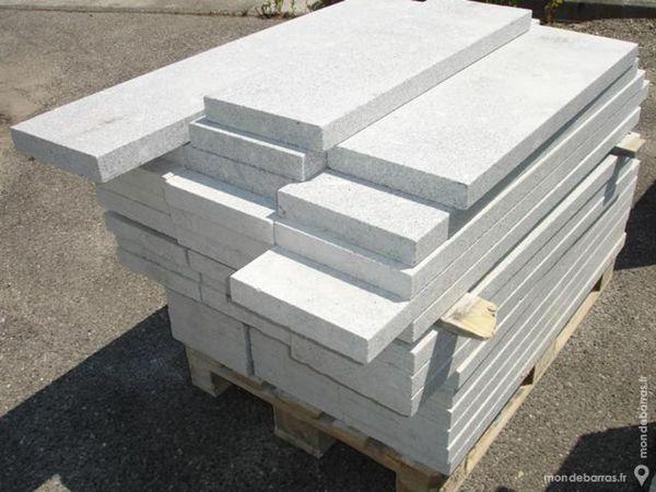 tablette couvertine en pierre granit