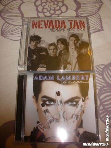 Occasion, Nevada Tan et Adam Lambert