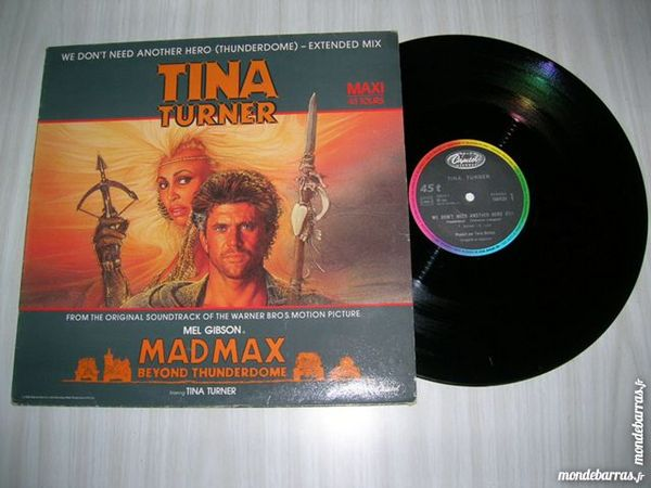 MAXI 45 TOURS TINA TURNER We don't need another he
