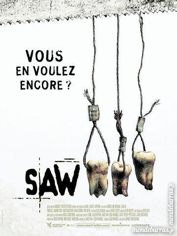 K7 Vhs: Saw 3 (83) 6 Saint-Quentin (02)