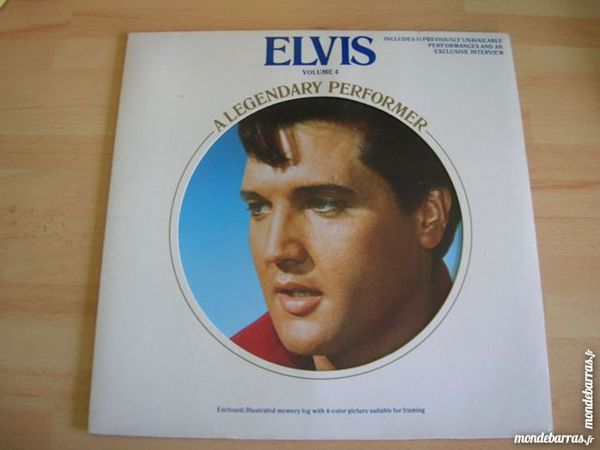 Occasion, 33 TOURS ELVIS A Legendary Performer Vol.4 ORIGINA