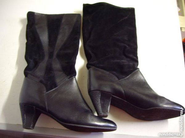 Achetez bottes à talons noir quasi neuf, annonce vente à Bouxwiller ... 9c0152e855bb