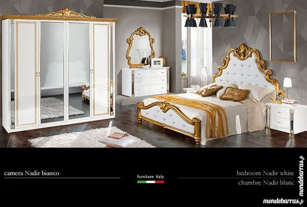 NADIR CHAMBRE A COUCHER ITALIENNE COMPLETE