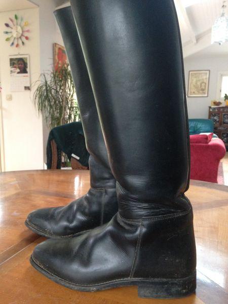 Bottes \u0026eacute;quitation tout cuir Cavallo
