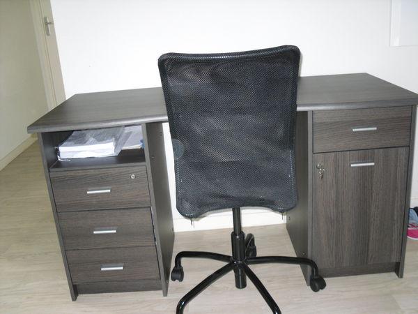 Achetez bureau avec fauteuil occasion annonce vente à bordeaux