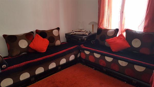 Salon Marocain Moderne De Tru0026egrave;s Bonne Qualitu0026eacute; Meubles