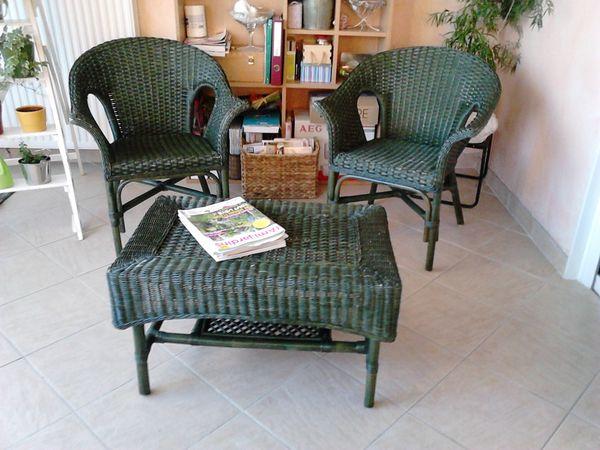 Achetez salon en rotin, occasion, annonce vente à Chalon-sur ...