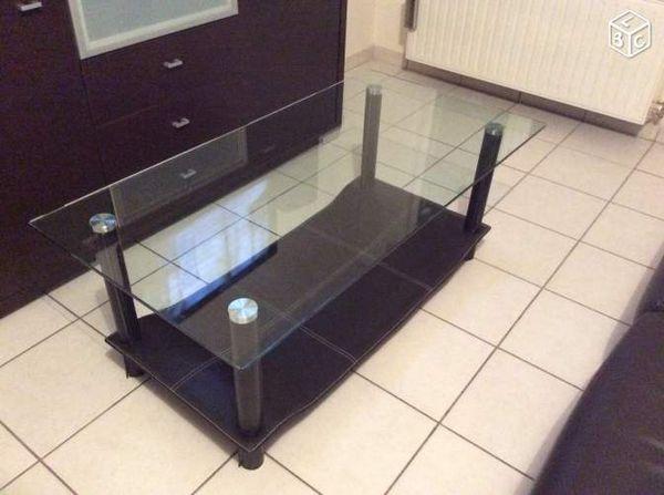 Table Et Basse A Cuir Saisir Verre 7gYb6fy