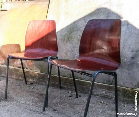 Pagwood Vintage 1960 Chaises 2 Pagholz IE9eD2WHY