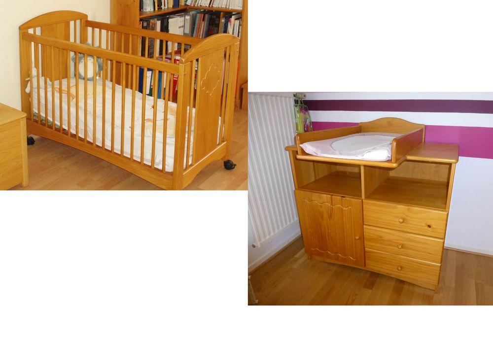 Achetez lit bébé et commode occasion, annonce vente à Savigneux (01 ...