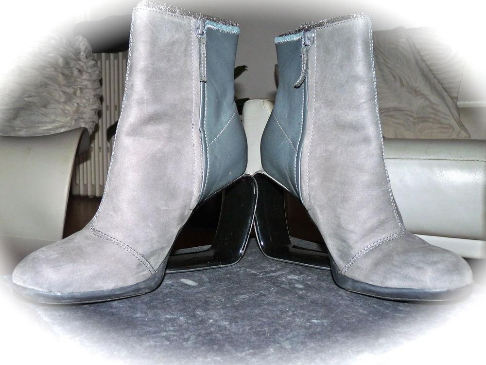 Achetez bottines grises, quasi neuf, annonce vente à Aix-les-Bains ... a0a04e7581c2