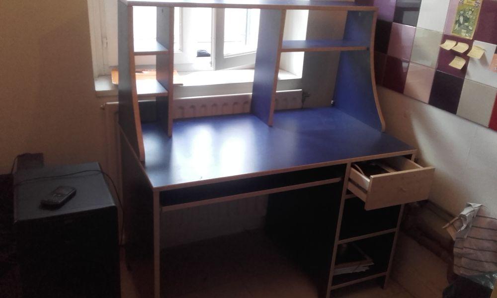 Achetez bureau ikea bleu occasion annonce vente à toulouse