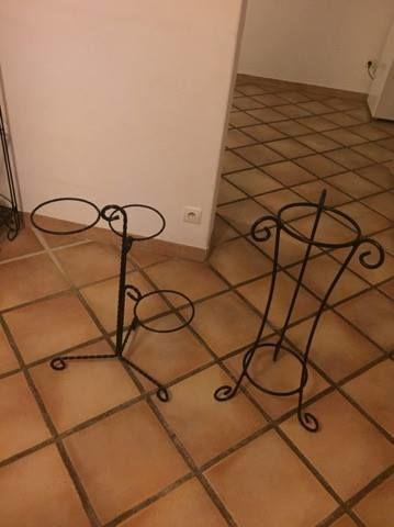Achetez porte plante fer occasion, annonce vente à Auriol (13 ...