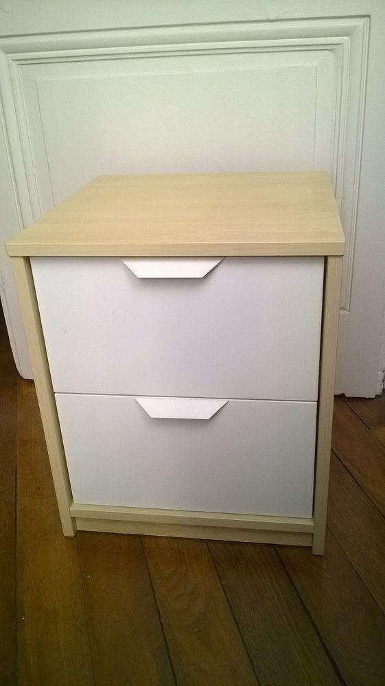 Table De Chevet Ikea 2 Tiroirs