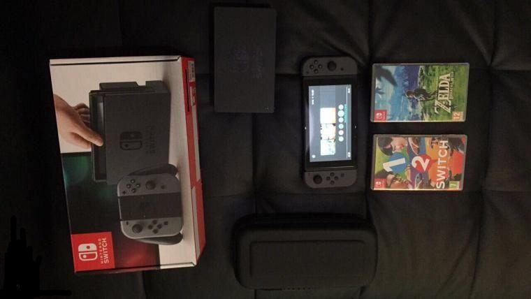 nintendo switch jeux carton