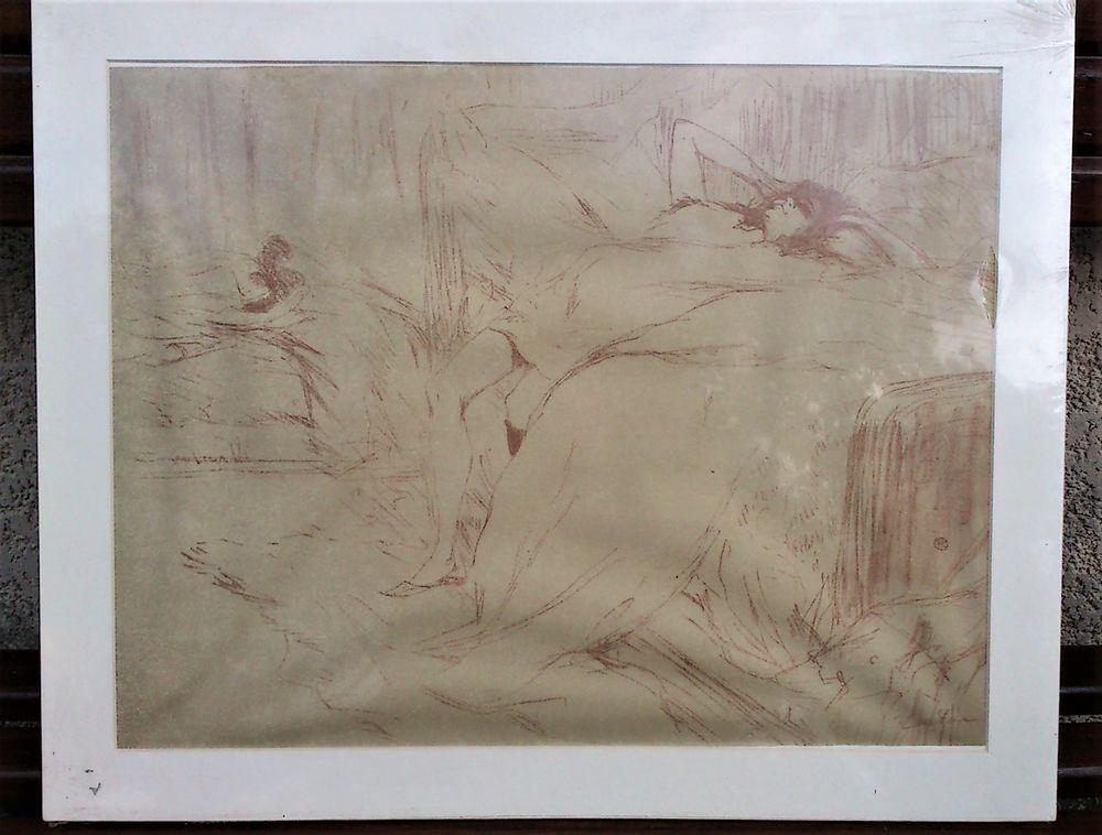 11954f11113 Lithographie Toulouse-Lautrec  quot  ...