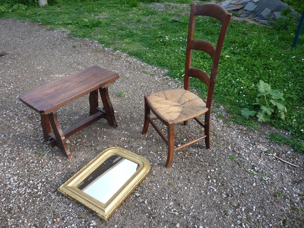 Petit Banc Chaise De Nourrice Miroir Meubles