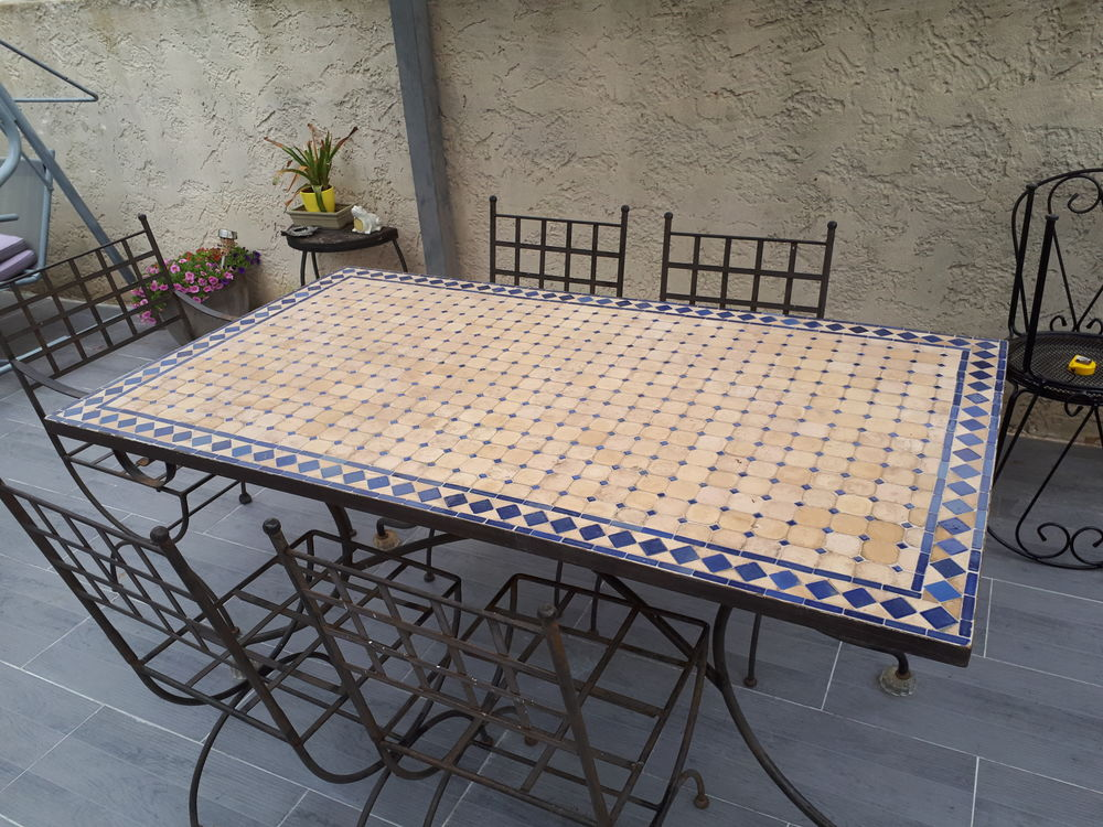 table marocaine 180x90 8 couvert
