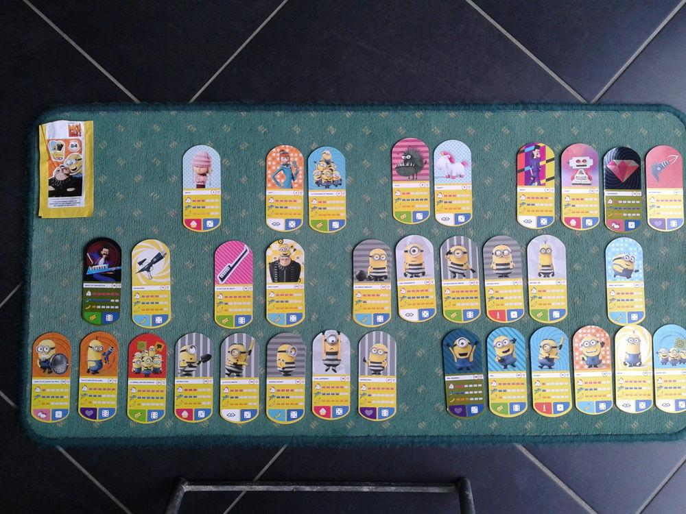 Carte Auchan Moi Moche Et Mechant 3.Cartes A Collectionner Auchan Moi Moche Et Mechant 3