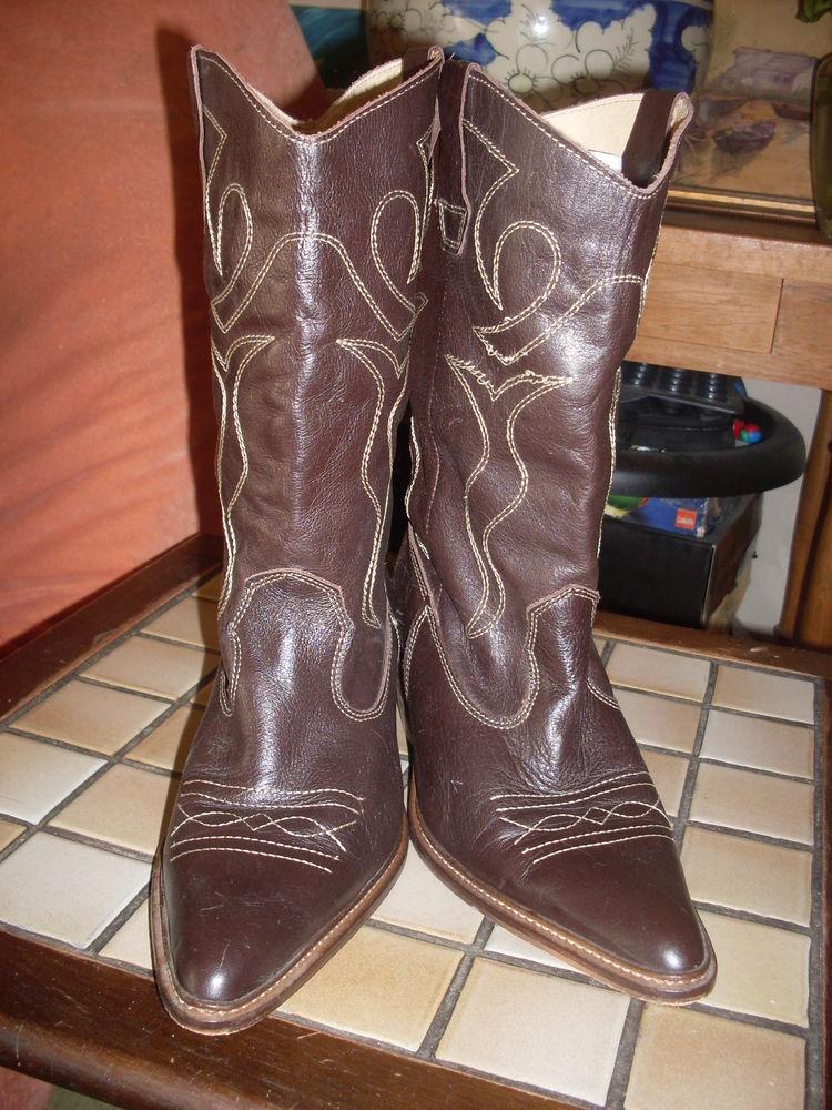 Achetez bottes santiag femme quasi neuf, annonce vente à Beauvais ... b6a997a60f76