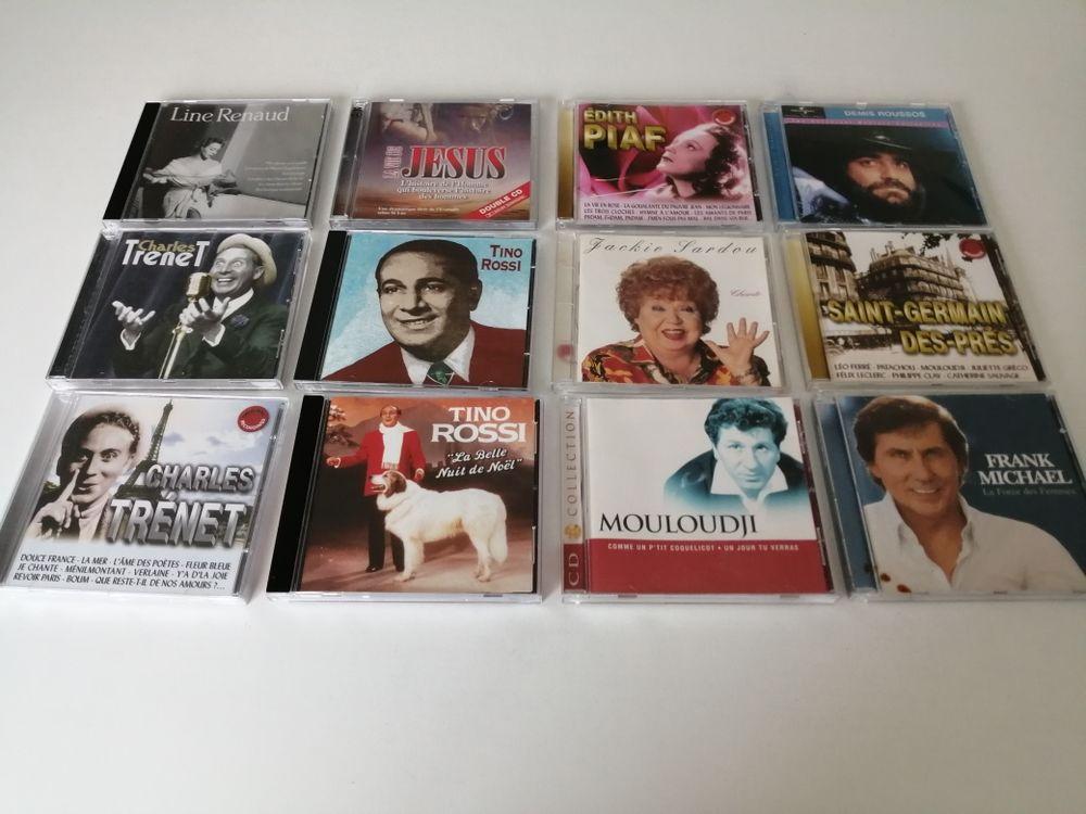 12 CD CD et vinyles