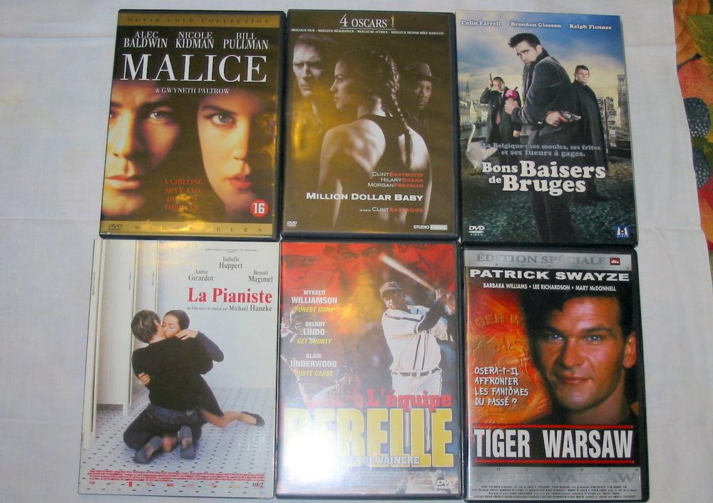 Lot de 6 DVD Réf: D1 5 Pantin (93)
