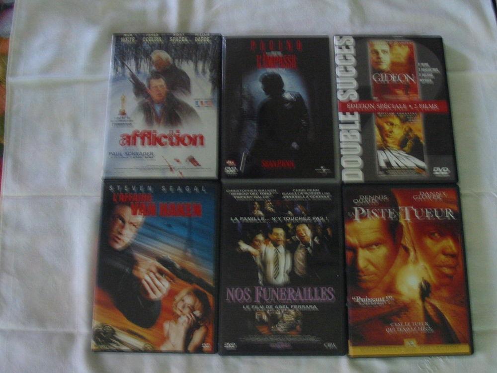 Lot de 6 DVD Réf: D3 5 Pantin (93)