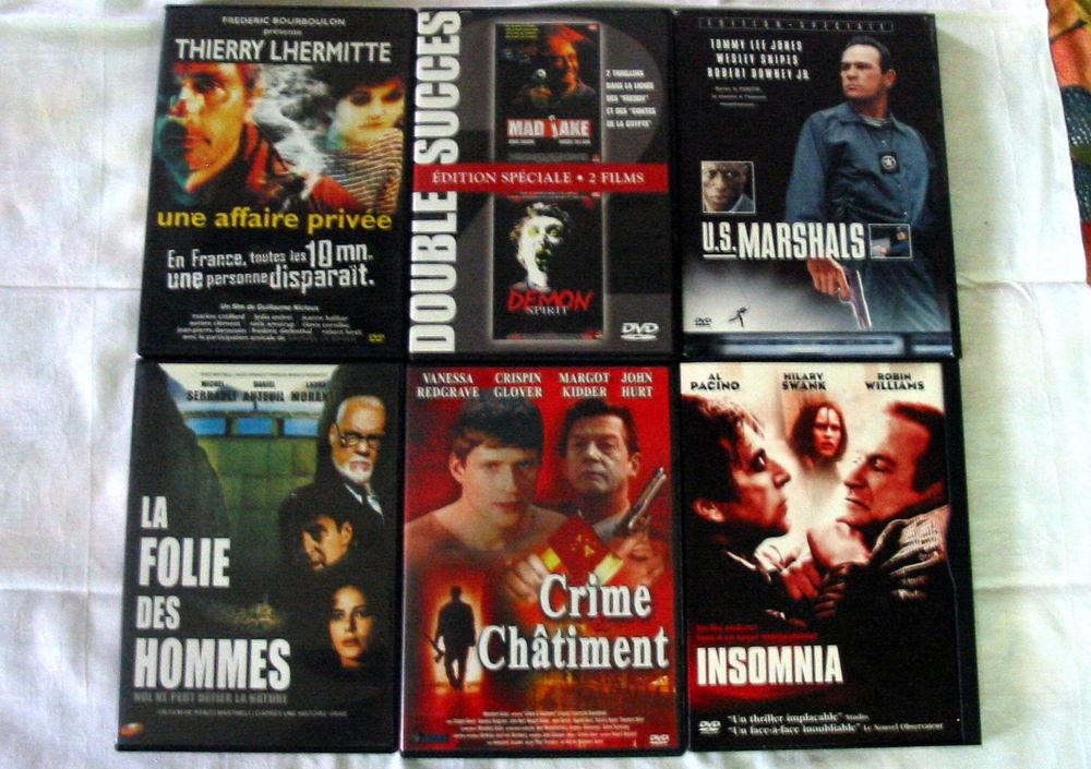 Lot de 6 DVD Réf: D6 5 Pantin (93)