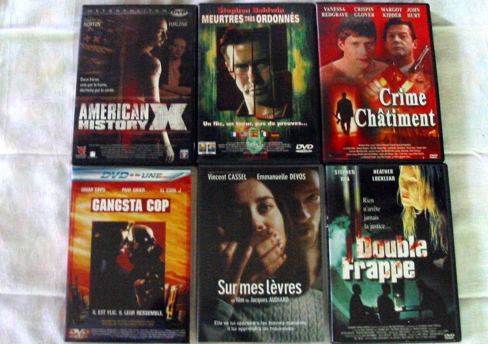 Lot de 6 DVD Réf: D7 5 Pantin (93)
