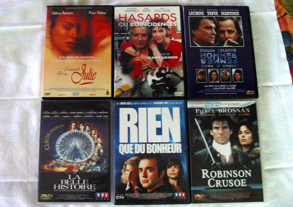 lot de 6 DVD Réf: D8 5 Pantin (93)
