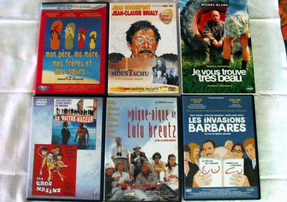 Lot de 6 DVD Réf: D9 5 Pantin (93)
