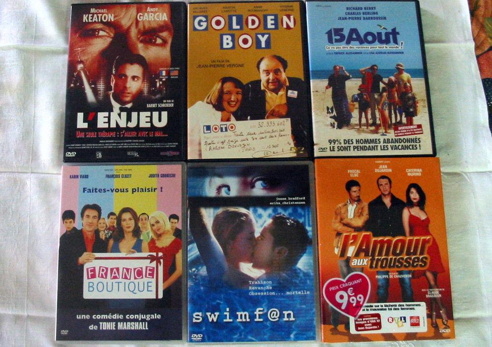 Lot de 6 DVD Réf: D11 5 Pantin (93)