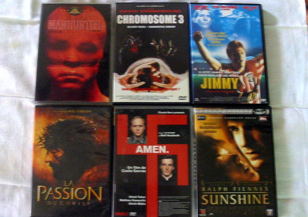 Lot de 6 DVD Réf: D12 5 Pantin (93)