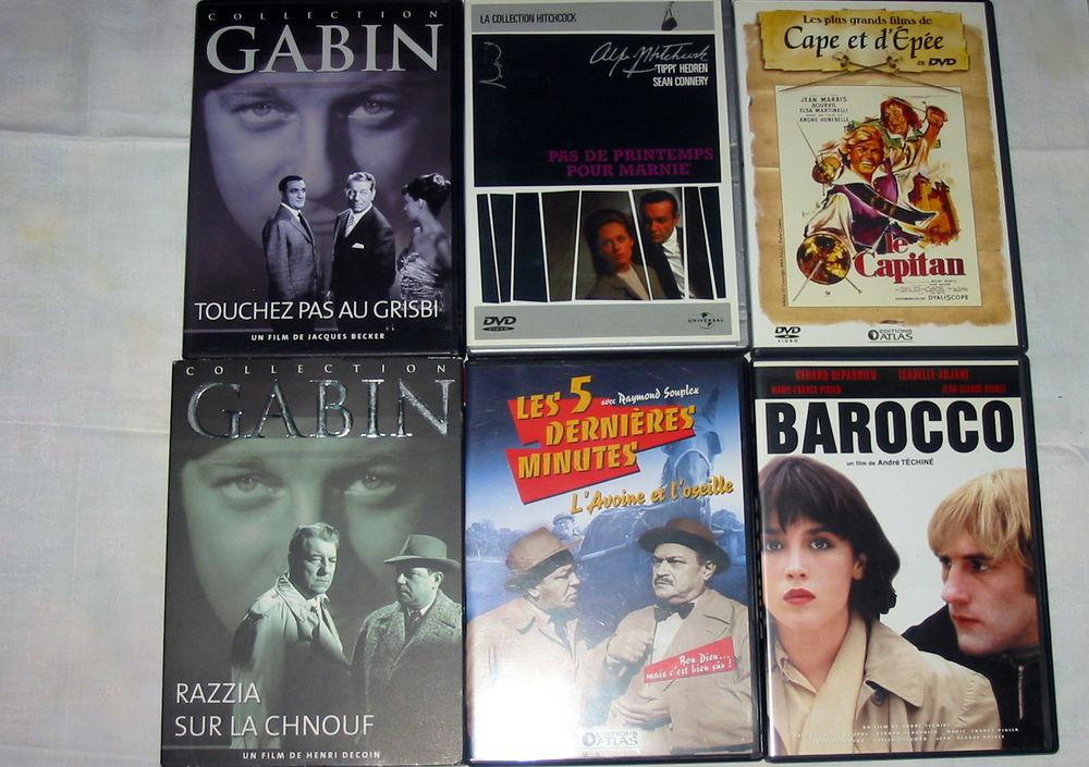 Lot de 6 DVD Réf: D13 5 Pantin (93)