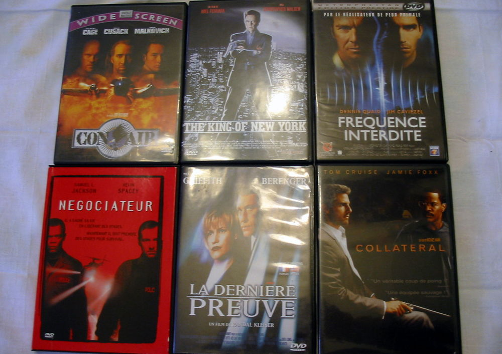 Lot de 6 DVD Réf: D2 5 Pantin (93)