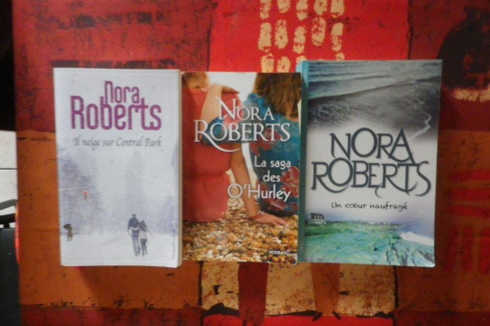 3 ROMANS NORA ROBERTS ou à l'unité - détail dans l'annonce 10 Bubry (56)